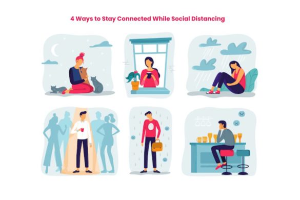 4 Ways to Stay Connected While Social Distancing