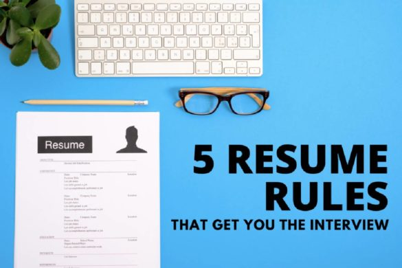 resume rules