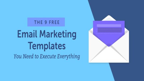 Email Marketing Templates – Strategy, Ten E-mail Marketing Templates