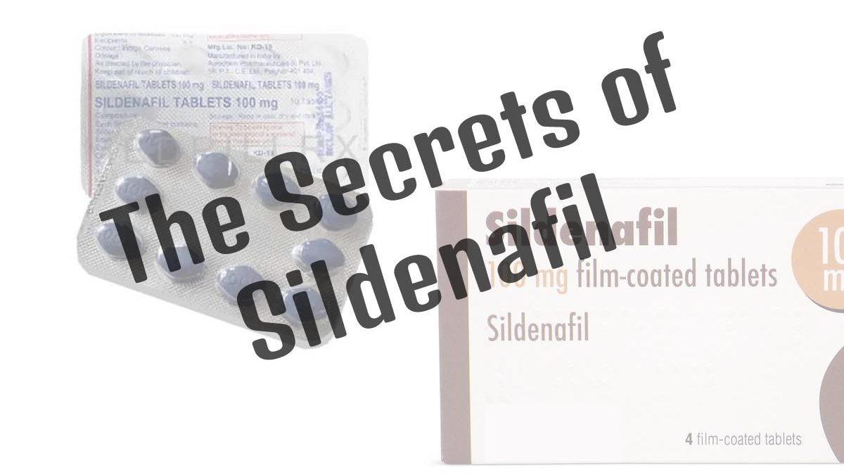 The Secrets of Sildenafil