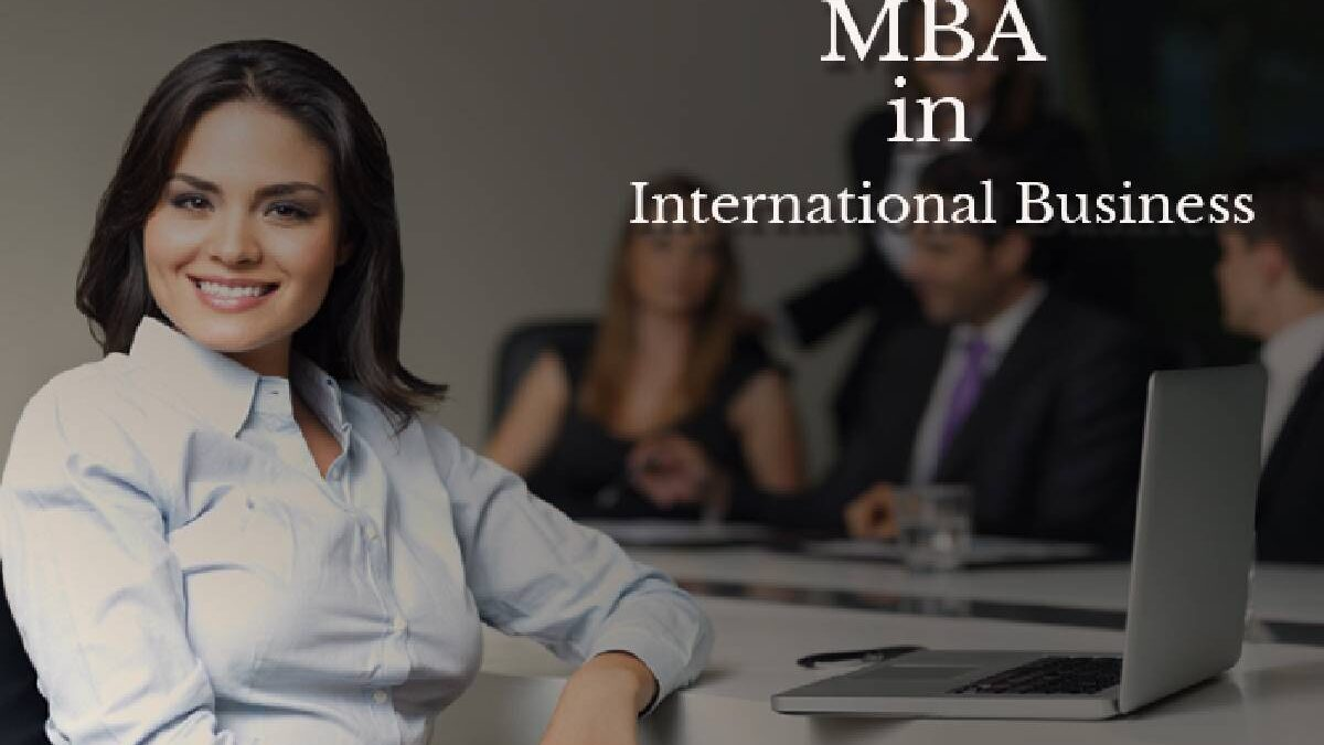 What should I do after MBA in International Business?