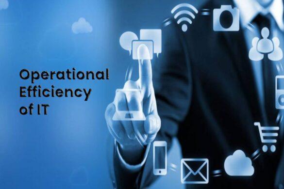 operational efficiency of it