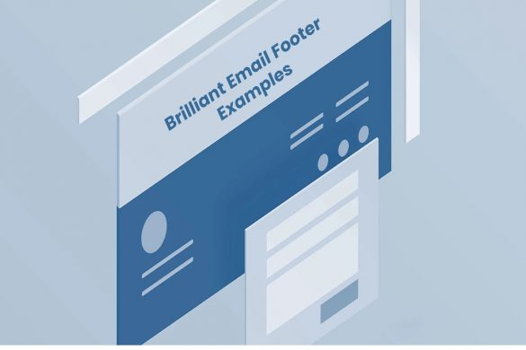 Email footer