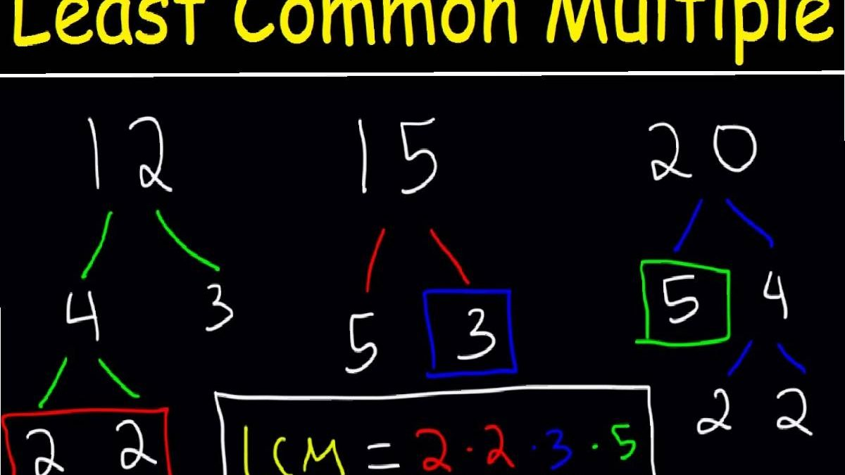 LCM- An overview to Basic Mathematics